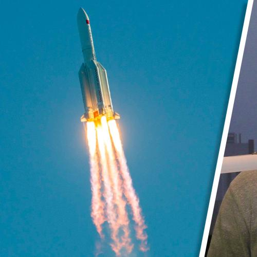 Christian's Daughter Had A Sleepless Night In Fear Of China's Rocket Hitting Their House!