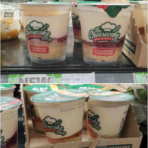 STOP EVERYTHING: You Can Get 'The Cheesecake Shop' Cups At Coles!