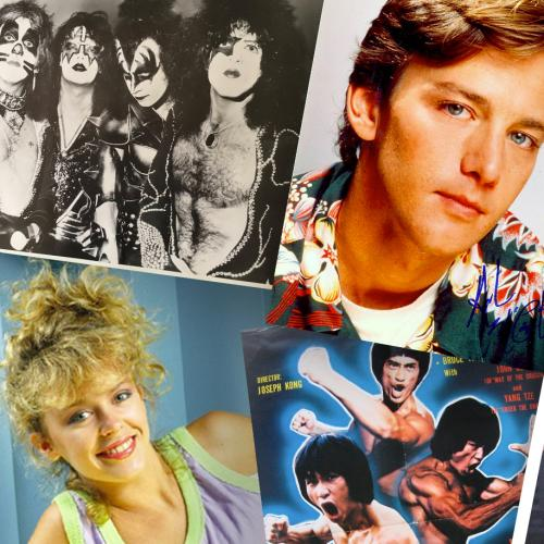 Elvis, Kylie, Andrew McCarthy... What Posters Were On Your Bedroom Wall Growing Up?