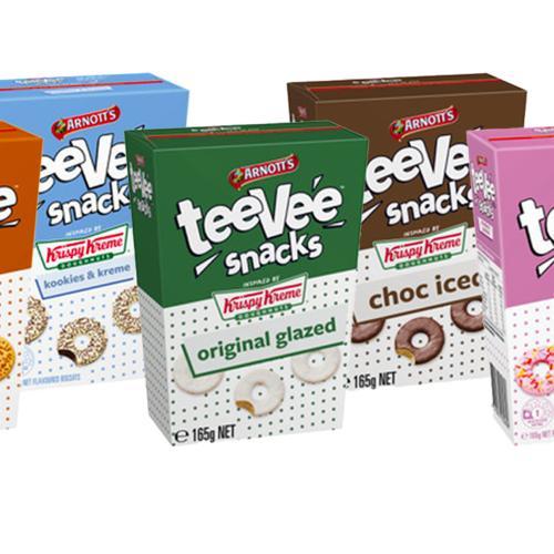 TeeVee Snacks Just Dropped A Huge Krispy Kreme Biscuit Range
