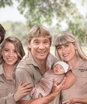 Bindi Irwin Celebrates First Mother's Day Sharing Artwork Of Steve With Baby Grace