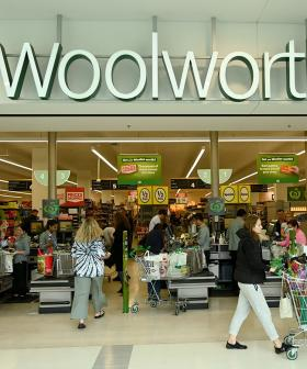 Woolies Are Now Placing Staff Outside Their Stores To Get More People Checking In With QR Codes