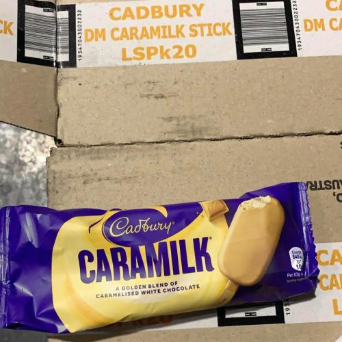 Here's The Scoop: Cadbury's New Caramilk Stick Ice Creams Are About To Hit Stores!