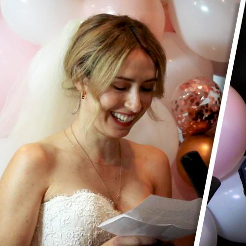 Jack's Wife Reads The Wedding Vows She Never Had The Chance To Say