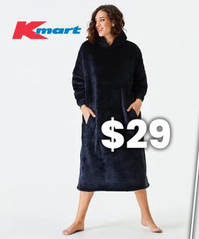 Kmart Has Just Dropped A New Cheaper 'Hooded Blanket' And It Looks The Same As One That Is 4x The Price!