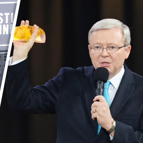 Our Investigative Listener Found Out Kevin Rudd Is A Big Fan Of A Ham & Cheese Croissant