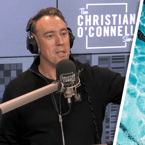 Christian's Strange Dream About Swimming With The Dees Players...