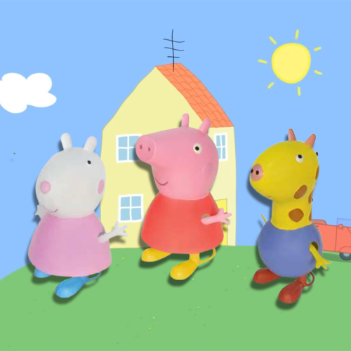 Woolworths Are Selling Adorable Metal Peppa Pig Figures For Your Home